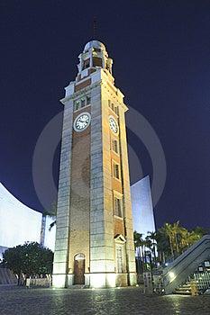 Tsim Sha Tsui Clock Tower Royalty Free Stock Photo - Image: 19217775