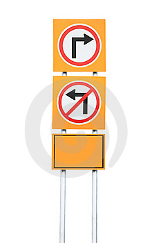 Turn Right Royalty Free Stock Image - Image: 19218366