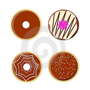 Tasty Donuts Stock Photo - Image: 19218490
