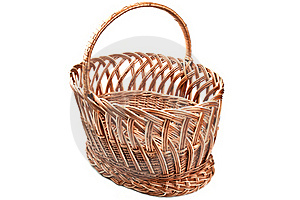 Wicker Basket Stock Photography - Image: 19221752