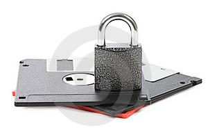 Floppy Disks Isolated On White Royalty Free Stock Photography - Image: 19221887
