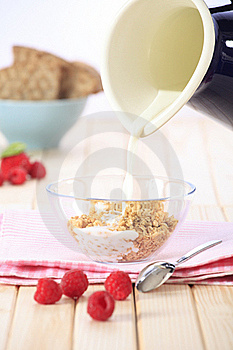 Healthy Breakfast Royalty Free Stock Image - Image: 19223716