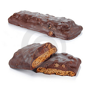 Chocolate Biscuit Royalty Free Stock Photos - Image: 19225338