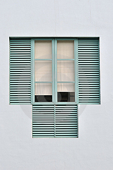 Window And Grid Royalty Free Stock Photo - Image: 19227055