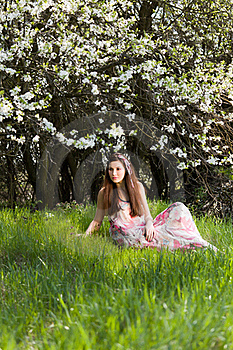 Spring Portrait Stock Images - Image: 19230784