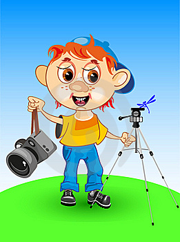 PHOTOGRAPHER Royalty Free Stock Images - Image: 19234799