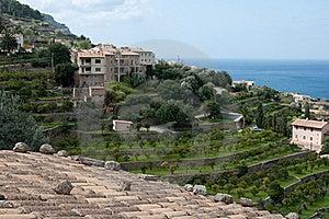 Coast Of Banyalbufar, Majorca, Spain Royalty Free Stock Photos - Image: 19235008