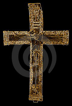 Crucifix King Ferdinand Royalty Free Stock Photos - Image: 19235308