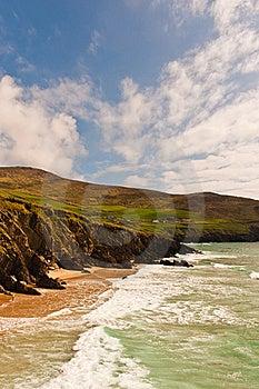 Cliffs On  Dingle Peninsula, Ireland Royalty Free Stock Photography - Image: 19238217