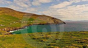 Cliffs On  Dingle Peninsula, Ireland Royalty Free Stock Photos - Image: 19238328