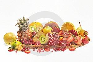 Various Fruits Stock Photos - Image: 19243463