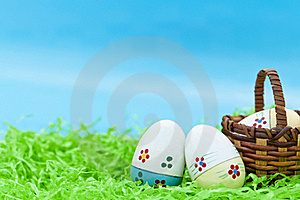 Three Easter Eggs Stock Photography - Image: 19244442
