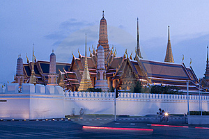 Wat Phra Kaew : The Royal Temple Of Bangkok , Thai Stock Photos - Image: 19244743