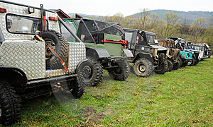 Offroad Vehicles Stock Photography - Image: 19244822