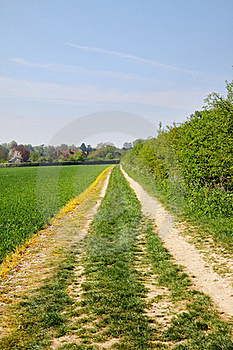 An English Rural Landscape Stock Photo - Image: 19245070