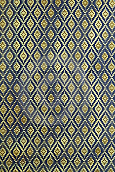 Thai Style Fabric Pattern Royalty Free Stock Photo - Image: 19246675