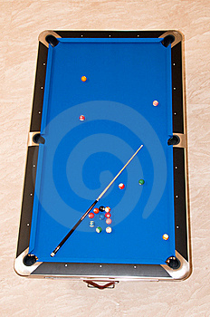 Billiard Table Royalty Free Stock Photo - Image: 19246705