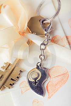 Key With Heart Stock Photos - Image: 19247643