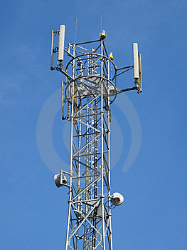 Telecommunication Tower Stock Images - Image: 19248854
