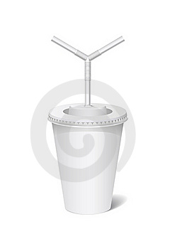 Plastic Cup. Royalty Free Stock Photo - Image: 19249145