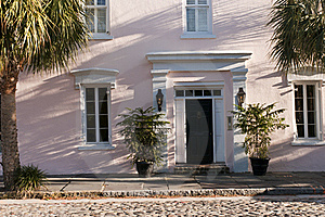 Old Southern Townhouse Royalty Free Stock Photography - Image: 19249627