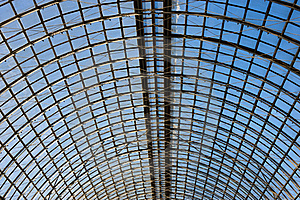 Abstract Geometric Pattern Ceiling Royalty Free Stock Photos - Image: 19251058