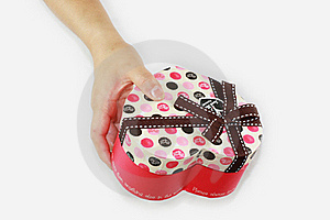 Send A Gift Of Hands Stock Images - Image: 19252464