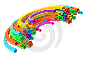Colorful Line Stock Photo - Image: 19252920