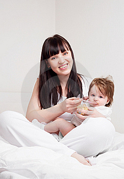 Mother And Baby Stock Images - Image: 19254074
