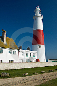 Portland Bill Lighthouse Royalty Free Stock Image - Image: 19254496