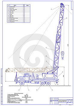 Unit For Development And Repair Wells A-50 Royalty Free Stock Photography - Image: 19258687