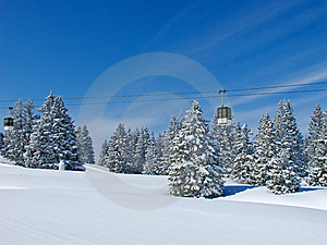 Winter In The Alps Royalty Free Stock Photo - Image: 19258705