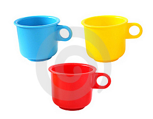 Toy Baby Cups Stock Image - Image: 19259001
