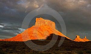 Orange Glow Stock Images - Image: 19259474