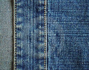 Fragment Of Jeans Royalty Free Stock Photos - Image: 19262288