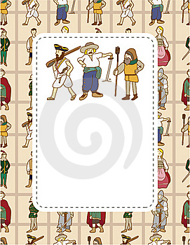 Medieval People Card Stock Images - Image: 19262654