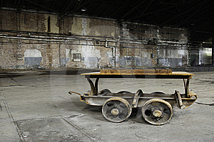 Abandoned Factory Royalty Free Stock Images - Image: 19262919