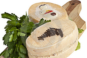 Goat Cheese Flavored Stock Image - Image: 19264611