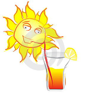 Sun Cocktail Stock Image - Image: 19267941