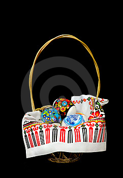 Easter Basket Royalty Free Stock Photo - Image: 19269655