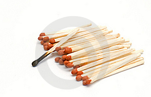 Matches Royalty Free Stock Photography - Image: 19270247