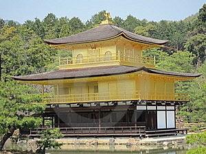 Kinkakuji Temple Of Kyoto Stock Photos - Image: 19270643