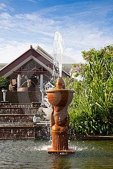 Garden Fountain Royalty Free Stock Photo - Image: 19272205