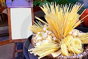 Italian Pasta Royalty Free Stock Image - Image: 19276346