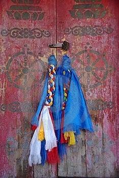 Door Handles, Mongolia Royalty Free Stock Photo - Image: 19278785