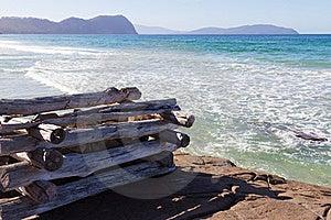 Beach At Marion Bay Stock Image - Image: 19283411