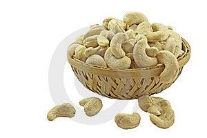 Cashew In Basket Stock Photo - Image: 19286870