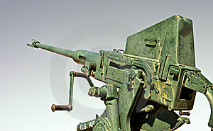 Anti Aircraft Gun Stock Images - Image: 19292634