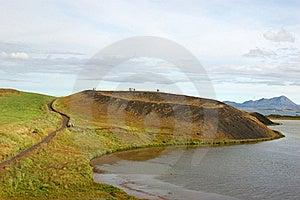 Lake Myvatn, Iceland Royalty Free Stock Photos - Image: 19293888