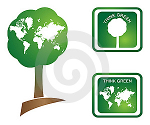 Think Green Royalty Free Stock Photo - Image: 19294375